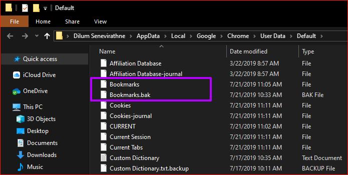 كيفية استعادة الـ Bookmarks المحذوفة من على Google Chrome 4
