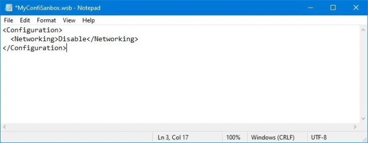 كيف تقوم بضبط و تعديل Windows Sandbox على Windows 10 3