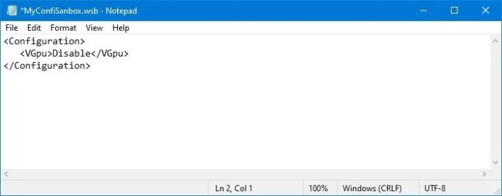 كيف تقوم بضبط و تعديل Windows Sandbox على Windows 10 4