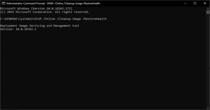 DISM اداة اصلاح الأخطاء الجديدة المتوفرة على نظام Windows 10 7