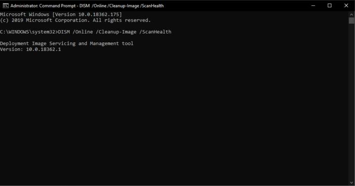 DISM اداة اصلاح الأخطاء الجديدة المتوفرة على نظام Windows 10 5