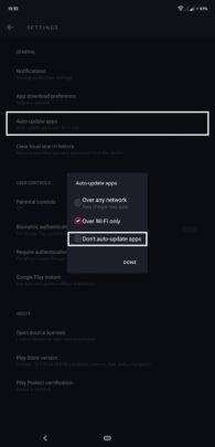 كيف تحافظ على باقة الإنترنت الخاصة بك لأطول وقت ممكن على اجهزة Android 3