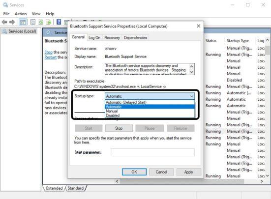 حل مشكلة البلوتوث لا يعمل على نظام ويندوز Windows 10 13
