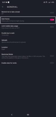 كيف تفعل الوضع الليلي في اغلب تطبيقات Google على نظام Android 29