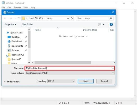 كيف تقوم بضبط و تعديل Windows Sandbox على Windows 10 2