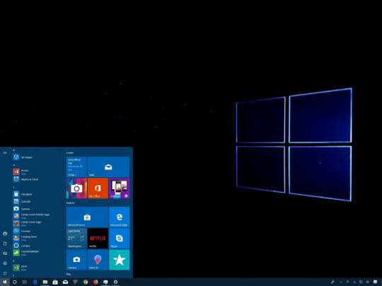نظام ويندوز 10 يعاني من مشكلة شاشة سوداء لدى بعض المستخدمين اليك الحل 1