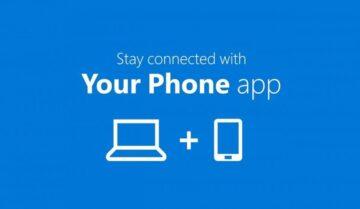 شرح تطبيق Your phone و تثبيته و كيفية استعماله على windows 10 8
