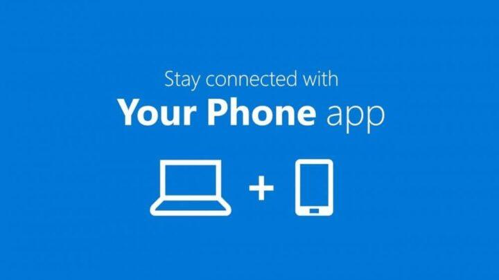شرح تطبيق Your phone و تثبيته و كيفية استعماله على windows 10 1