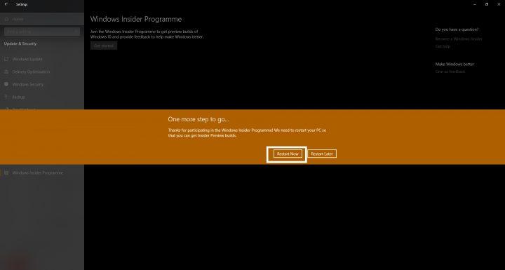 كيف تشترك في برنامج Windows Insider لتحصل على التحديثات التجريبية 9