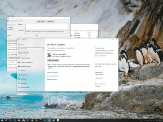 قم بإيقاف التحديثات التلقائية على Windows 10 بدون ايقاف التحديثات نفسها 1