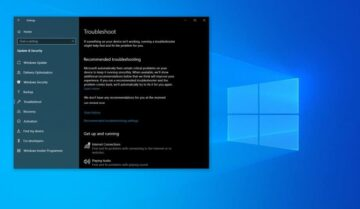 كيف تستعمل اداة Recommended Troubleshooting على Windows 10 9