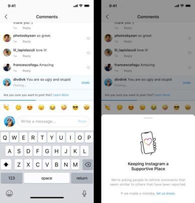 Instagram يعمل على ميزتين جداد للحد من التنمر الإلكتروني 2
