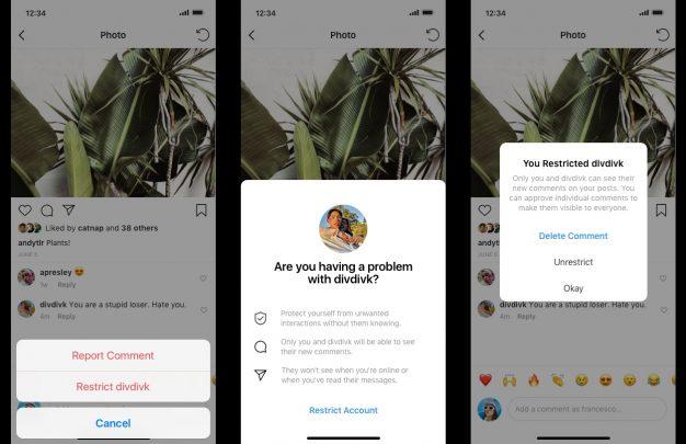 Instagram يعمل على ميزتين جداد للحد من التنمر الإلكتروني 3