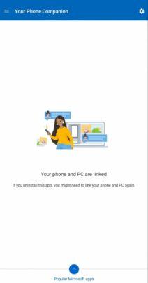 شرح تطبيق Your phone و تثبيته و كيفية استعماله على windows 10 10