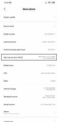 فعل ميزة الوضع الليلي Dark Mode على pocophone و اجهزة Xiaomi الآن 2
