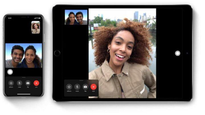 facetime بخاصية جديدة قادمة له في تحديث IOS 13 2