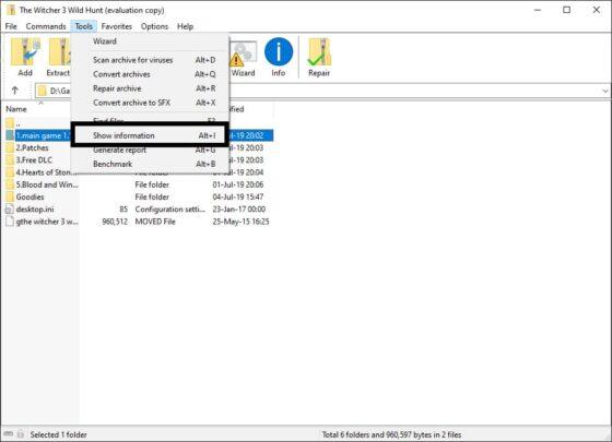 حيل في تطبيق Winrar ستجعله افضل في الإستخدام بشكل كبير 7