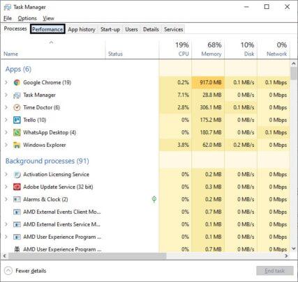 كيف تحدد عدد مداخل الـ RAM بداخل جهازك من خلال Windows 10 4