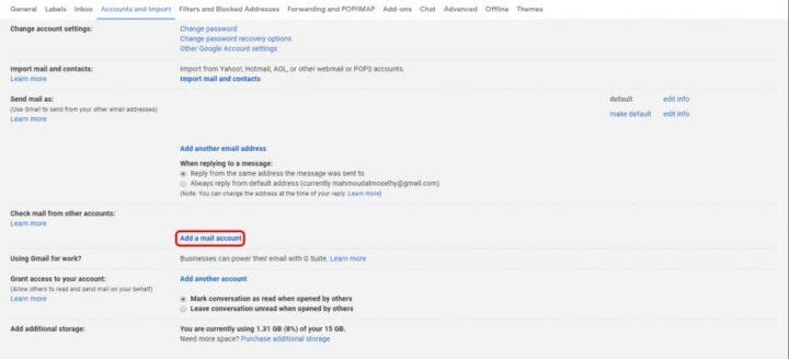 كيفية نقل رسائل Gmail من حساب الى آخر بكل سهولة 9