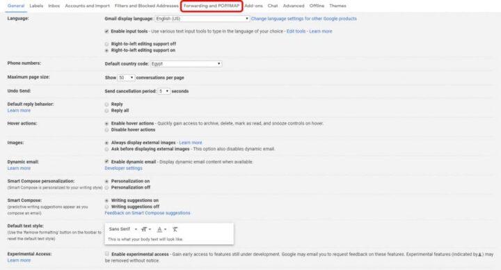 كيفية نقل رسائل Gmail من حساب الى آخر بكل سهولة 4