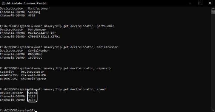 تعرف على مواصفات ذاكرة الوصول العشوائي RAM بجهازك من النظام 6