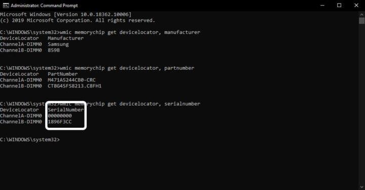 تعرف على مواصفات ذاكرة الوصول العشوائي RAM بجهازك من النظام 4