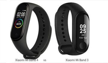 مقارنة تفصيلية بين Mi band 4 و Mi Band 3 من شركة Xiaomi 12