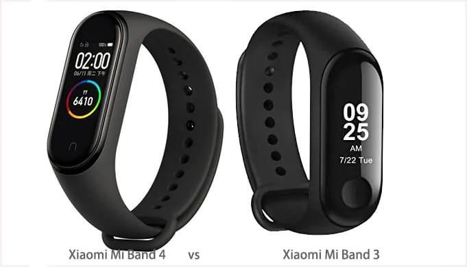 مقارنة تفصيلية بين Mi band 4 و Mi Band 3 من شركة Xiaomi 1