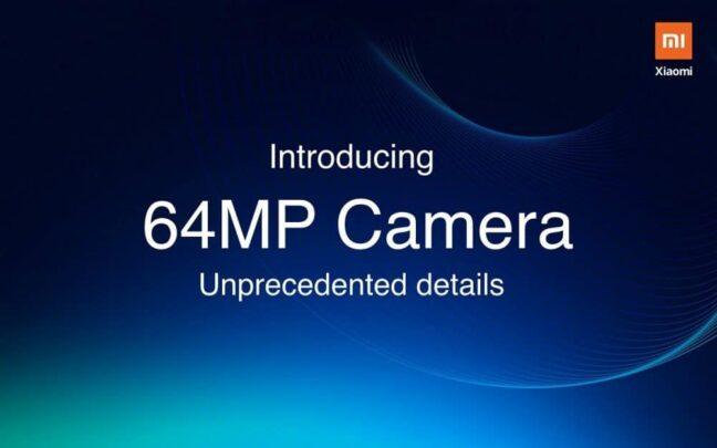 Xiaomi ستكشف عن هاتف جديد بكاميرا بدقة 64MP 1