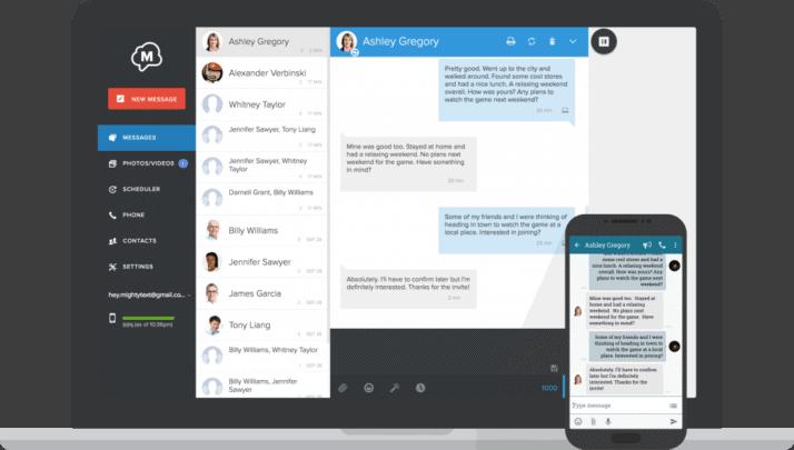 تطبيقات لإرسال الرسائل النصية من خلال جهاز الكمبيوتر الخاص بك 4