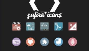 تثبيت حزمة أيقونات Zaifro على أنظمة لينكس المختلفة مع الصور 1