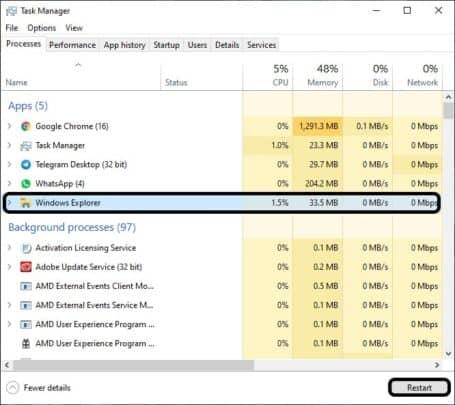 حل مشكلة Windows Search لا يعمل على Windows 10 5