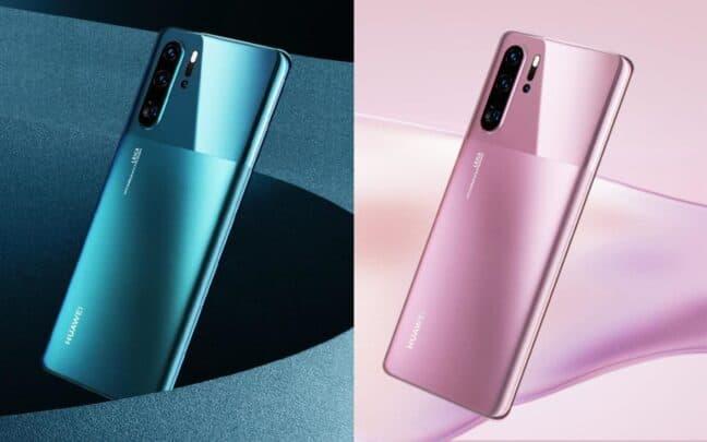 اطلاق هاتف Huawei P30 Pro بـAndroid 10 و الوان جديدة 2