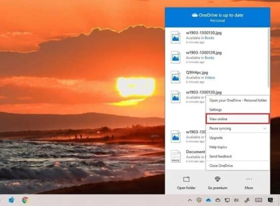 قم بإصلاح مزامنة OneDrive مع Windows 10 9