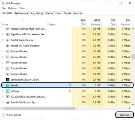 حل مشكلة Windows Search لا يعمل على Windows 10 3