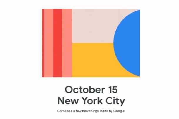 الكشف عن ميعاد مؤتمر اطلاق Google Pixel 4 الرسمي 2
