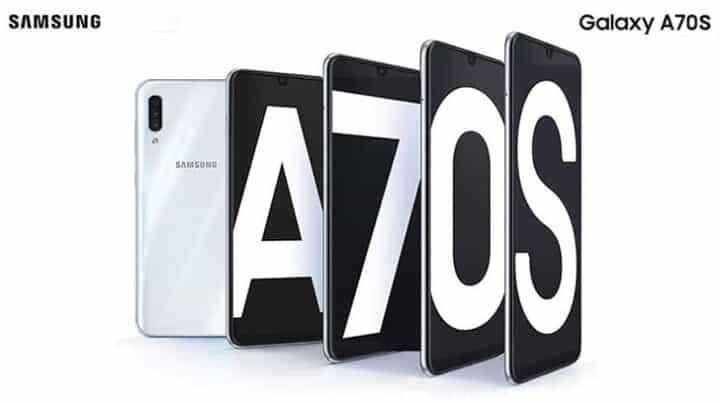 سامسونج تعلن عن Galaxy A70s في الهند بكاميرات محسنة عن السابق 1