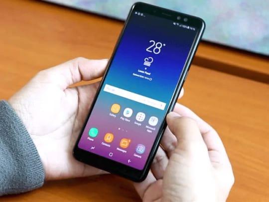 سعر و مواصفات Samsung Galaxy A8+ - مميزات و عيوب سامسونج جالاكسي اي 8 بلس 1