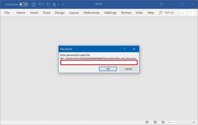 كيف تقوم بحفظ ملفات Microsoft Word بكلمة مرور لحمايتها 5