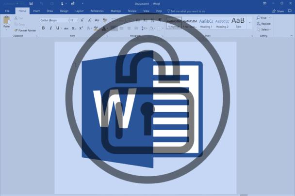 كيف تقوم بحفظ ملفات Microsoft Word بكلمة مرور لحمايتها 1