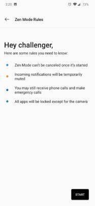 ما يفعله Zen Mode