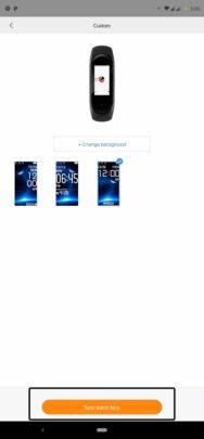 كيف تقوم بتثبيت اشكال مختلفة لشاشة Xiaomi Mi Band 4 بسهولة 11