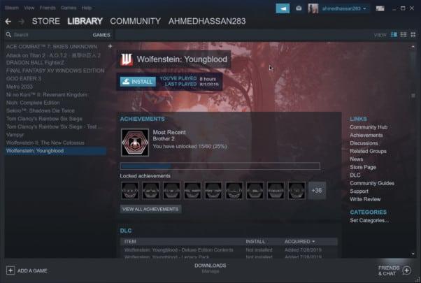 كيف تحصل على شكل Steam الجديد في نسخته التجريبية 1