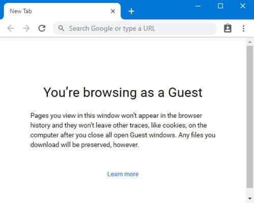 وضع الضيف Guest Mode