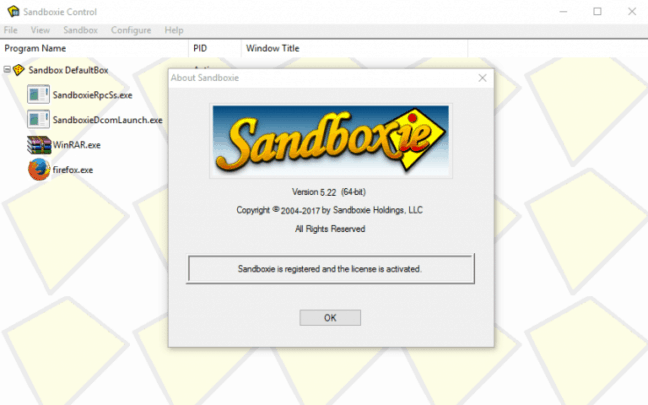 وضع Sandbox