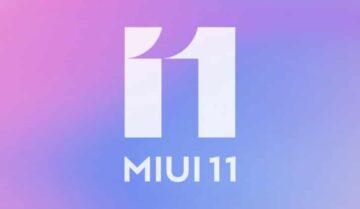 بدأ وصول تحديث Miui 11 للعديد من اجهزة شاومي 5