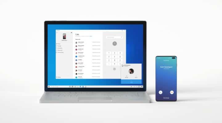 تطبيق Your Phone يتيح لك مزامنة المكالمات مع ويندوز 10 1
