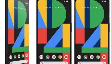 كيف تلتقط لقطة للشاشة Screenshot على هاتفي Pixel 4 و Pixel 4XL 2
