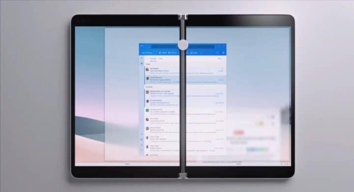 مايكروسوفت تعلن عن Surface Neo الجهاز اللوحي الجديد 1