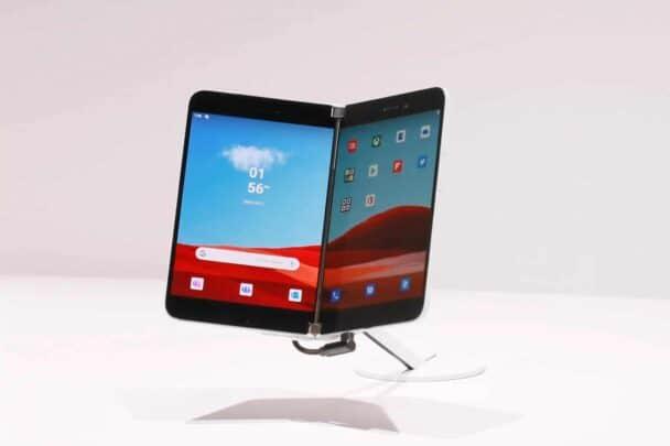 مواصفات و مميزات جهاز مايكروسوفت اللوحي Microsoft Surface Duo 1
